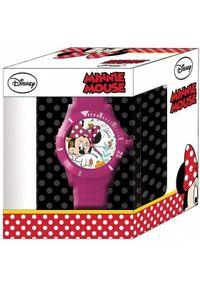 Pulio DIAKAKIS Zegarek analogowy Minnie w pudełku. Rodzaj zegarka: analogowe