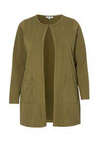 Zielony sweter Zhenzi długi, z długim rękawem