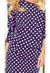 Numoco - Sportowa sukienka z kieszeniami i dekoltem. Materiał: tkanina, bawełna. Typ sukienki: sportowe. Styl: sportowy