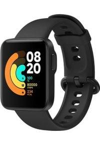 Smartwatch Xiaomi Mi Watch Lite Czarny (BHR4357GL). Rodzaj zegarka: smartwatch. Kolor: czarny