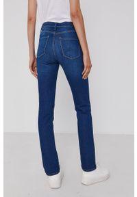 Pepe Jeans - Jeansy Grace. Kolor: niebieski