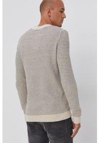 Selected - Sweter. Okazja: na co dzień. Kolor: beżowy. Długość rękawa: długi rękaw. Długość: długie. Styl: casual