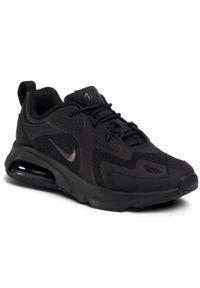 Czarne półbuty Nike z cholewką, klasyczne, na co dzień