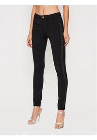 Czarne spodnie materiałowe Liu Jo Sport sportowe
