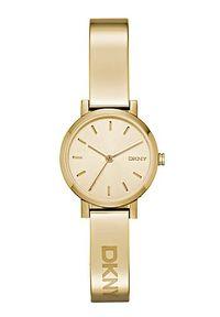 Złoty zegarek DKNY elegancki