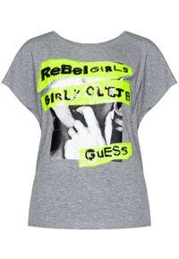 Guess T-Shirt Shelly W0YI95 K68D0 Szary Regular Fit. Kolor: szary