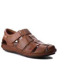 Brązowe sandały Pikolinos casualowe, na lato, na co dzień