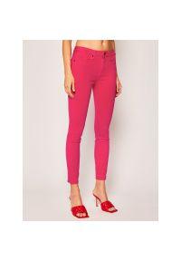 Różowe jeansy slim TOMMY HILFIGER