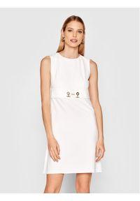 Biała sukienka Rinascimento casualowa, na co dzień, prosta