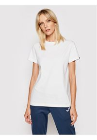 Joma T-Shirt Desert 901326.200 Biały Regular Fit. Kolor: biały