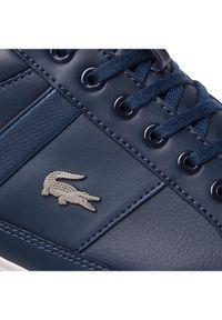 Lacoste Sneakersy Chaymon Bl 1 Cma 7-37CMA0094092 Granatowy. Kolor: niebieski