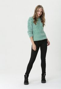 Zielony sweter Born2be