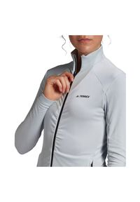 Adidas - Polar damski adidas Terrex FullZip Fleece GM4802. Materiał: polar #4