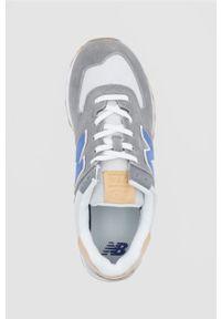 New Balance - Buty ML574NE2. Nosek buta: okrągły. Zapięcie: sznurówki. Kolor: szary. Model: New Balance 574