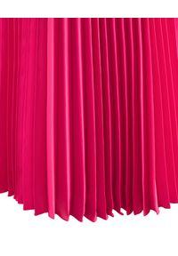 LA MANIA - Plisowana spódnica Lang w kolorze różowym. Kolor: wielokolorowy, różowy, fioletowy. Materiał: materiał #6