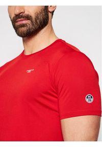 North Sails T-Shirt PRADA America's Cup 452307 Czerwony Regular Fit. Kolor: czerwony