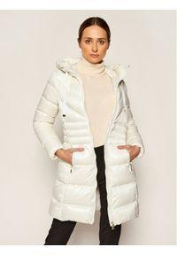 Biała kurtka puchowa Geox