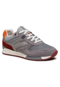 Lloyd - Sneakersy LLOYD - Elmar 11-408-11 Grey. Okazja: na co dzień. Kolor: szary. Materiał: skóra, zamsz, materiał. Szerokość cholewki: normalna. Styl: sportowy, casual