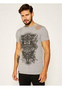 Rage Age T-Shirt Swaróg Monoch Szary Regular Fit. Kolor: szary