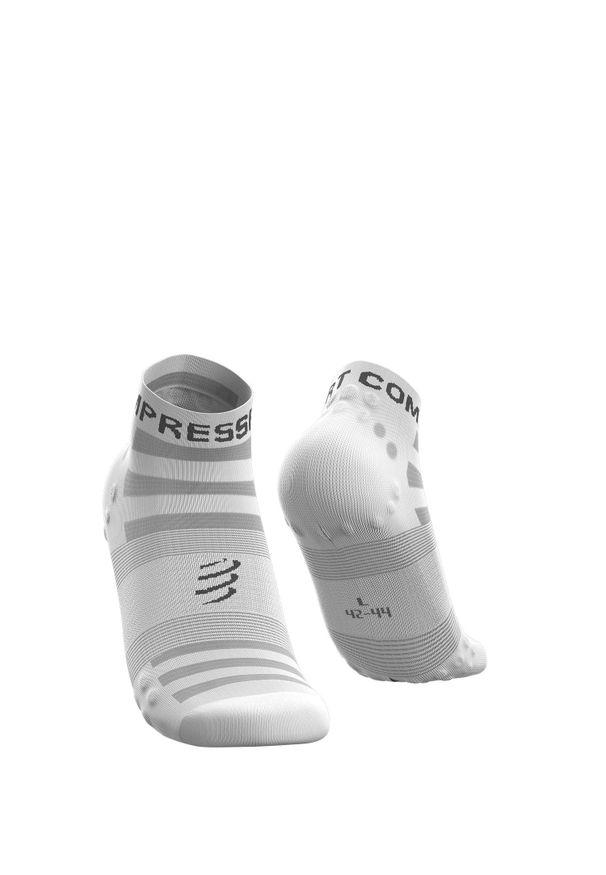 Compressport - Skarpety COMPRESSPORT PRORACING SOCKS V3.0 ULTRALIGHT RUN LOW. Materiał: mesh, włókno, skóra. Sport: bieganie