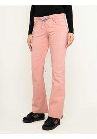 Różowe spodnie sportowe DC snowboardowe