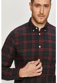 Brązowa koszula Selected klasyczna, długa, z długim rękawem