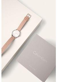 Różowy zegarek Calvin Klein