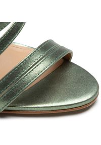 Zielone sandały Eva Longoria