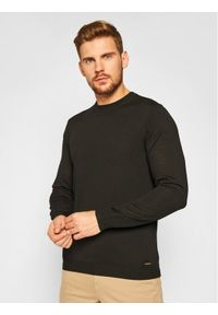 Czarny sweter klasyczny Roy Robson