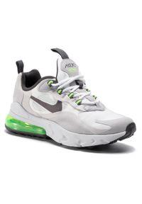 Szare półbuty Nike z cholewką