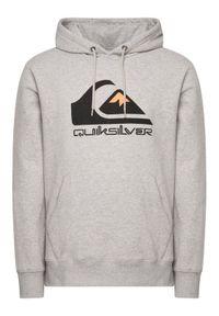 Quiksilver Bluza Comp Logo EQYFT04089 Szary Regular Fit. Kolor: szary