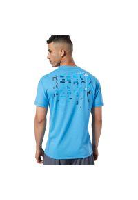 Koszulka męska Reebok One Series Training Speedwick EC1029. Materiał: materiał, bawełna, poliester. Długość rękawa: krótki rękaw. Długość: krótkie. Sport: fitness