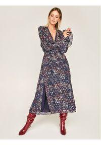 Niebieska sukienka IRO casualowa, na co dzień, prosta