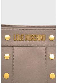 Love Moschino - Torebka. Kolor: szary