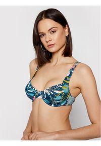 Niebieskie góra bikini Triumph