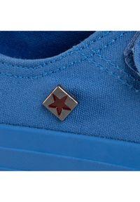 Big-Star - BIG STAR Trampki FF374098 Niebieski. Kolor: niebieski
