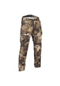 SOLOGNAC - Spodnie myśliwskie RESPI 900 camo futriv. Materiał: bawełna, materiał, poliester