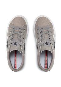 U.S. Polo Assn - Tenisówki U.S. POLO ASSN. - Marty154 MARTY415AS1/CY1 Grey. Okazja: na co dzień. Kolor: szary. Materiał: skóra ekologiczna, materiał. Szerokość cholewki: normalna. Styl: casual