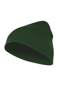 Zielona czapka EM Men's Accessories na zimę, casualowa