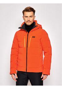 Pomarańczowa kurtka sportowa Helly Hansen narciarska