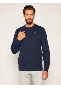 Levi's® Bluza Orginal Crew 35909-0001 Granatowy Regular Fit. Kolor: niebieski