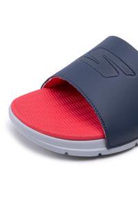 skechers - Klapki SKECHERS - Go Consistent Sandal 229030/NVRD Navy/Red. Okazja: na co dzień. Kolor: niebieski. Materiał: skóra ekologiczna, materiał. Styl: casual
