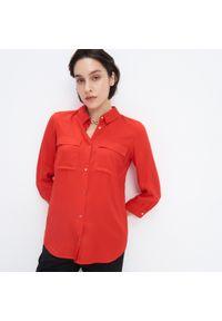 Mohito - Wiskozowa koszula - Czerwony. Kolor: czerwony. Materiał: wiskoza