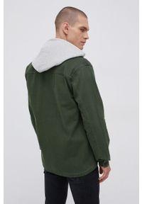!SOLID - Solid - Koszula bawełniana. Okazja: na co dzień. Typ kołnierza: kołnierzyk klasyczny. Kolor: zielony. Materiał: bawełna. Długość rękawa: długi rękaw. Długość: długie. Styl: klasyczny, casual
