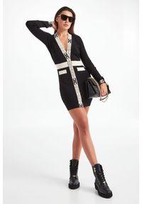 Elisabetta Franchi - SUKIENKA ELISABETTA FRANCHI. Typ sukienki: dopasowane. Długość: mini