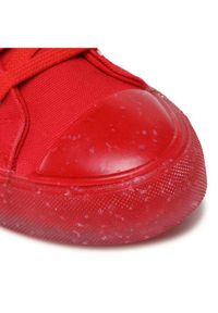 Czerwone trampki Love Moschino