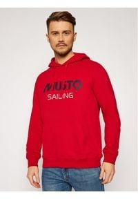 Musto Bluza 82019 Czerwony Regular Fit. Kolor: czerwony