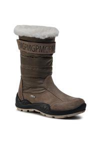 Brązowe buty zimowe Primigi