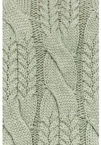 Miętowy sweter Answear Lab długi, wakacyjny