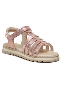 Różowe sandały Froddo